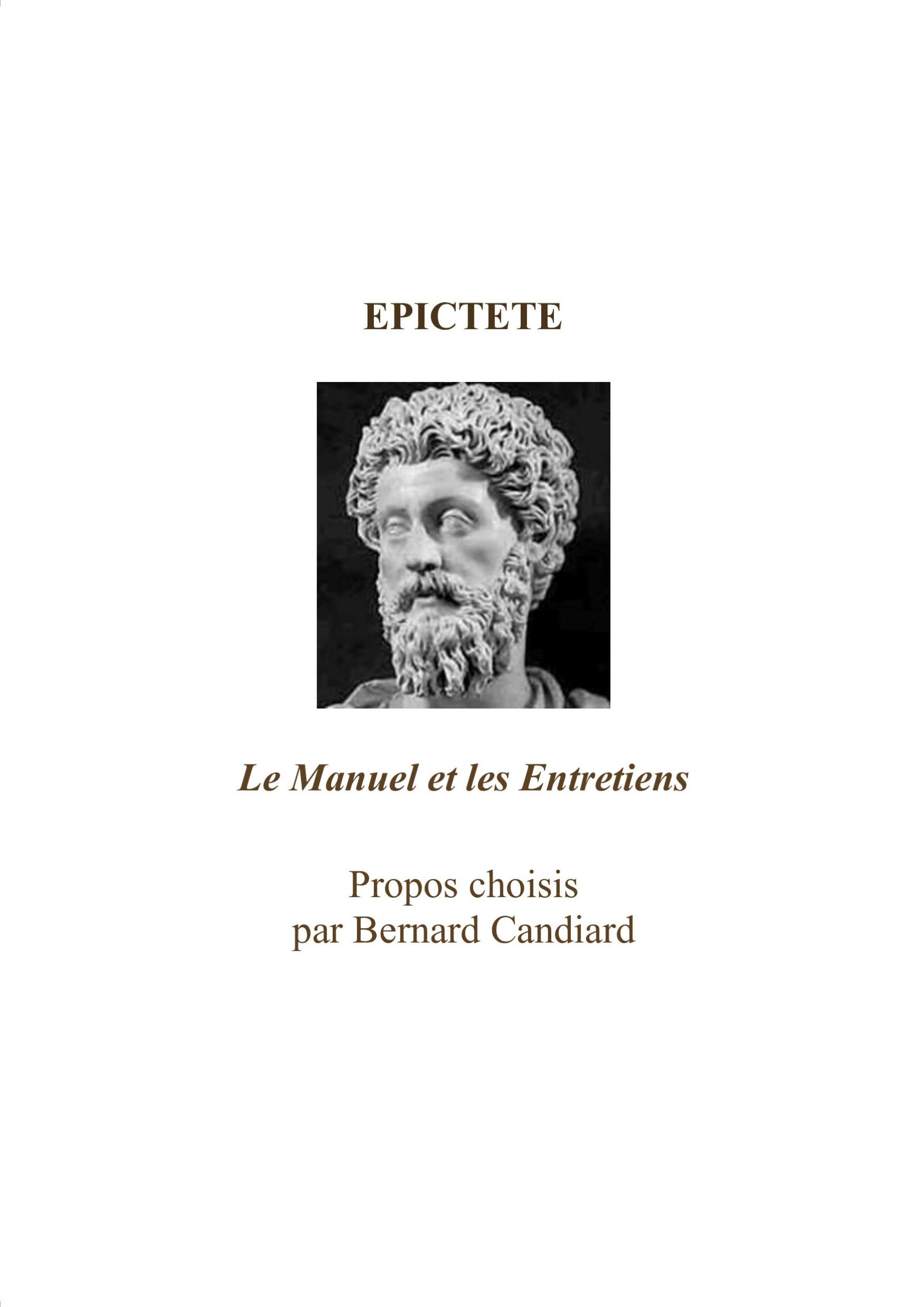 Epictète Propos choisis