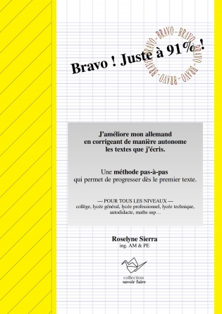 Bravo ! Juste à 91% ! version éco NB