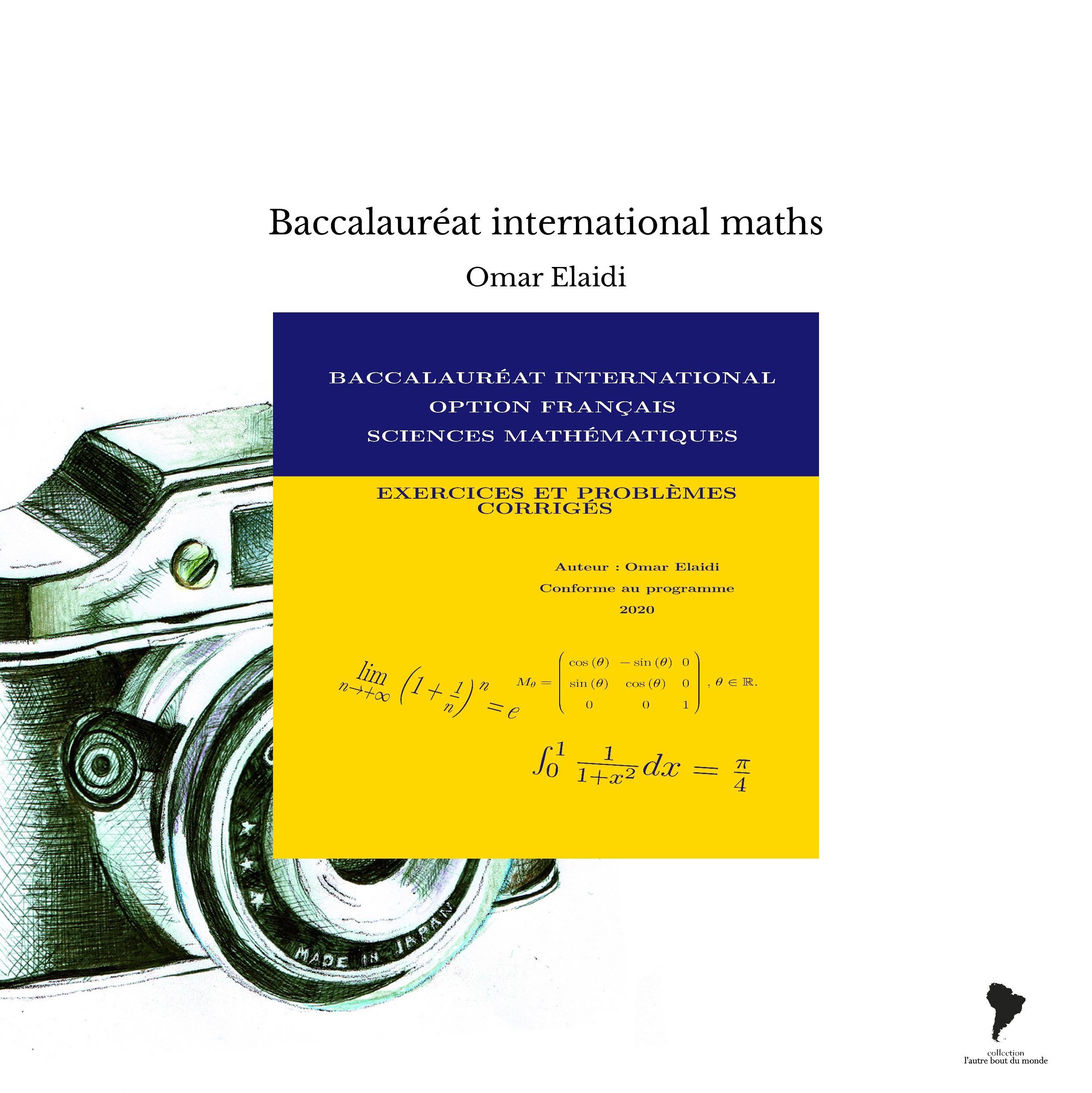 Baccalauréat international maths