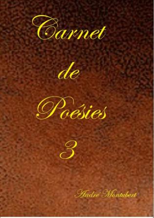 Carnet de Poésies 3