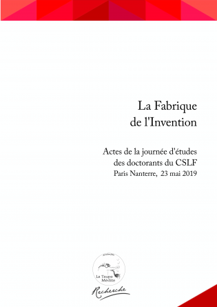 Actes Fabrique de l'Invention