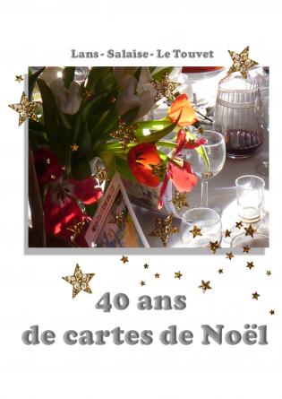 40 ans de cartes de Noël