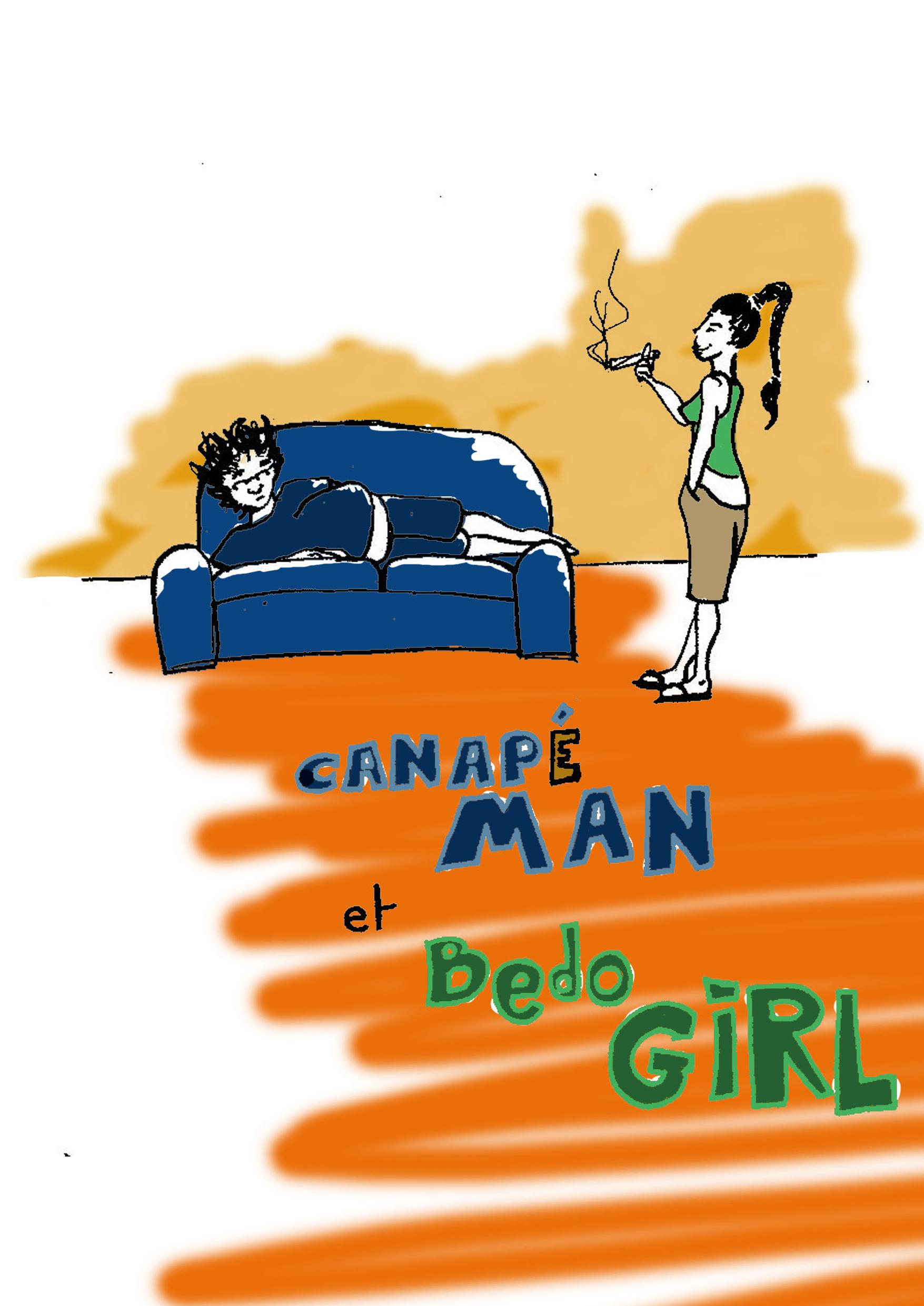 Canap'man et Bédogirl