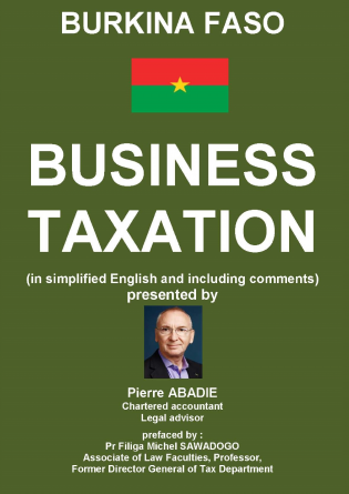 Business Taxation in Burkina Faso 2017