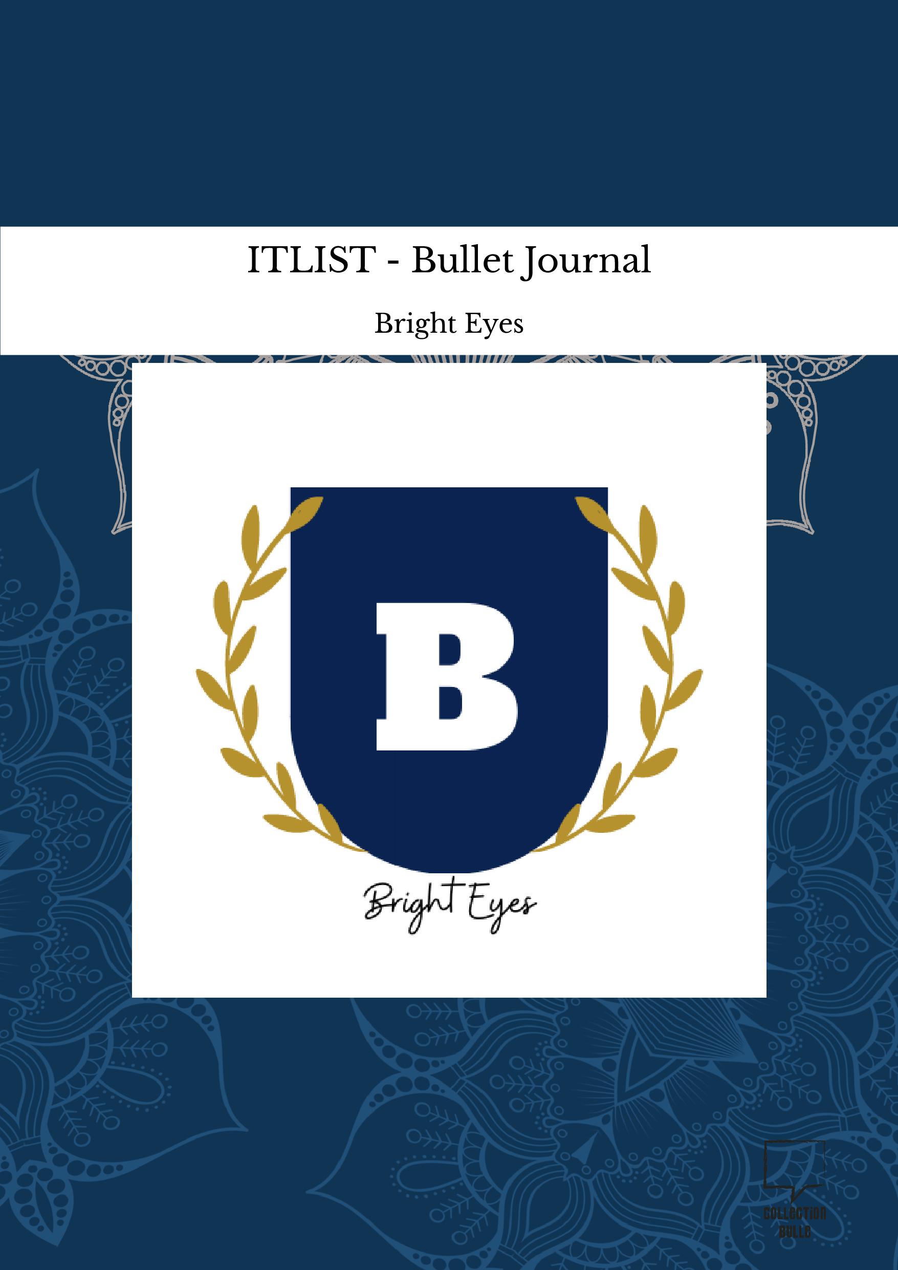ITLIST - Bullet Journal