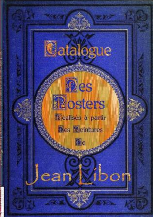 Catalogue des posters de Jean Libon