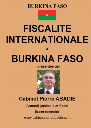 Fiscalité Internationale &Burkina Faso