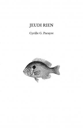 JEUDI RIEN
