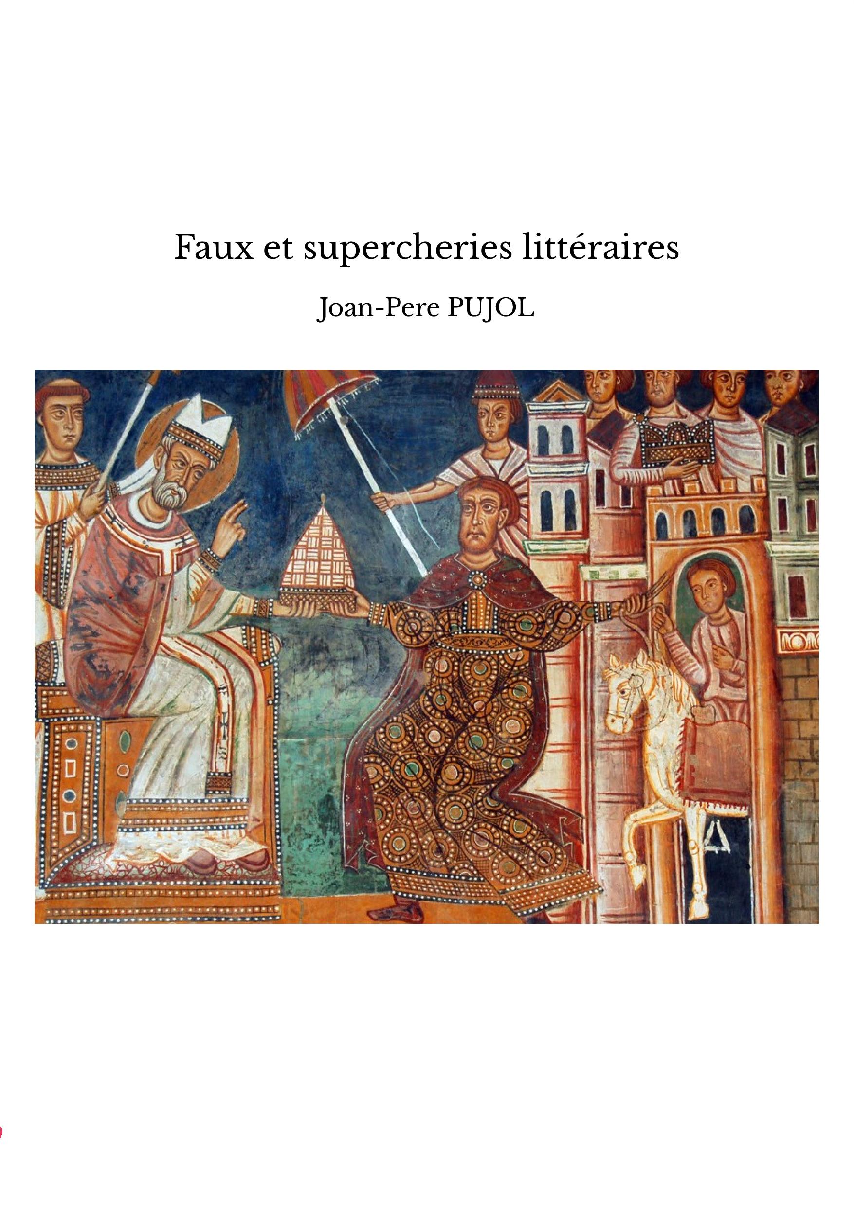 Faux et supercheries littéraires