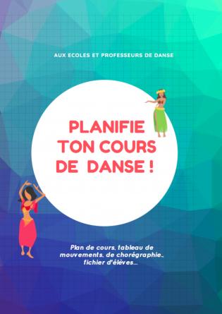 Planifie ton cours de danse !