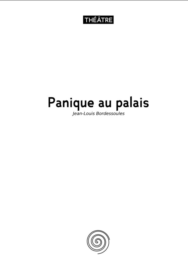 Panique au palais