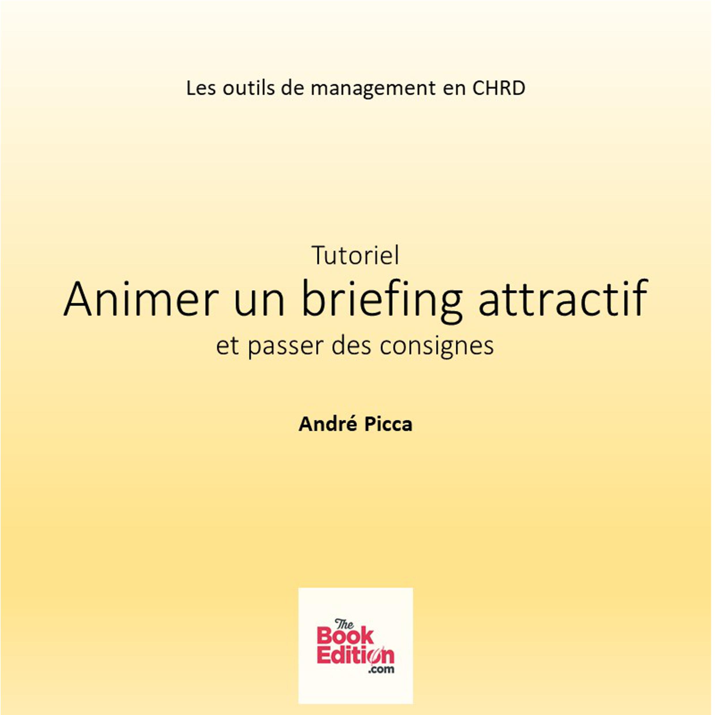 Animer un briefing attractif