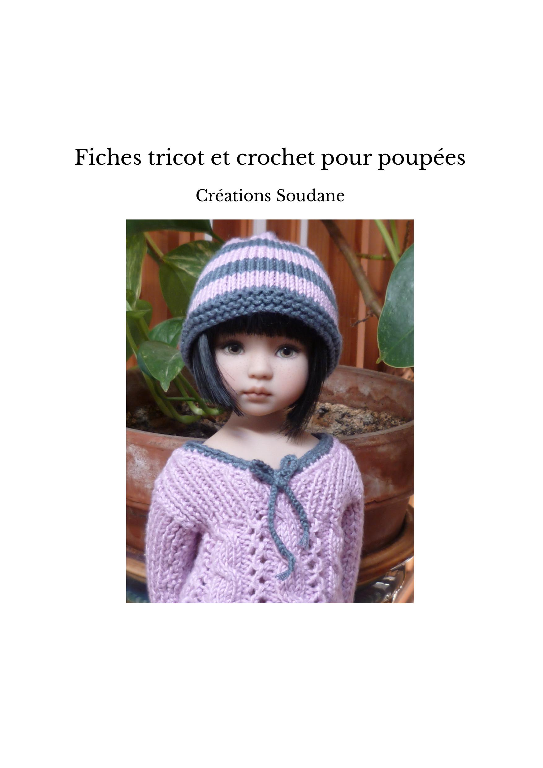 Fiches tricot et crochet pour poupées