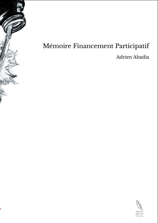 Mémoire Financement Participatif