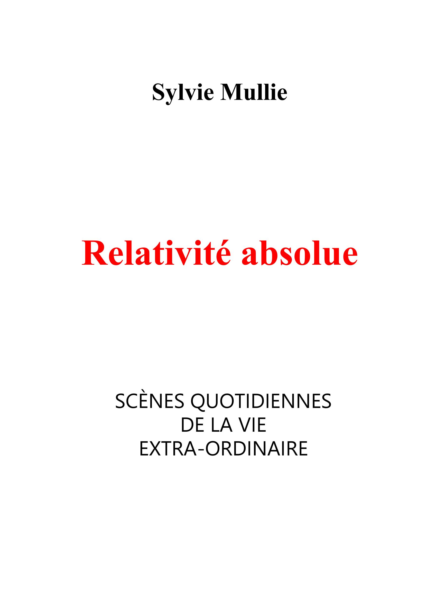 Relativité absolue