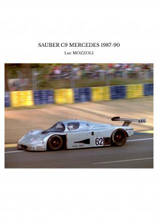 SAUBER C9 MERCEDES 1987-90