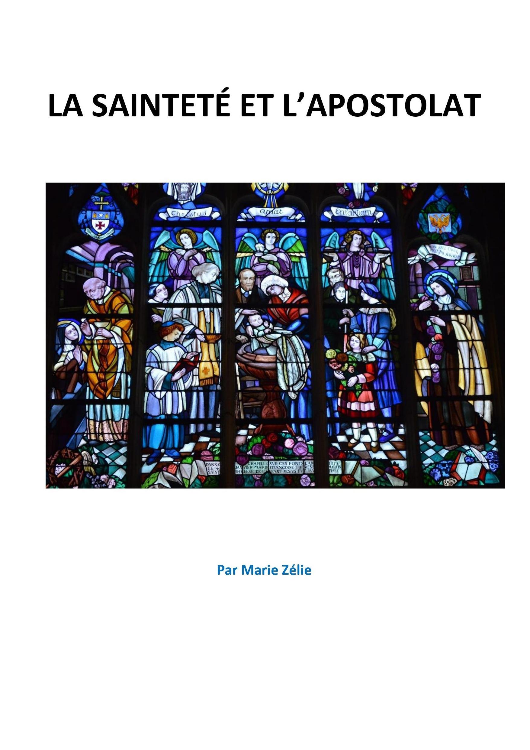 La sainteté et l'apostolat