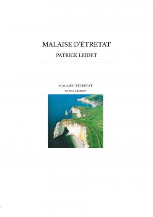 MALAISE D'ÉTRETAT