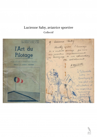 Lucienne Saby, aviatrice sportive