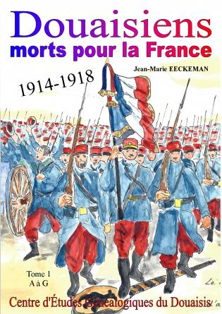 Douaisiens morts pour la France - t1