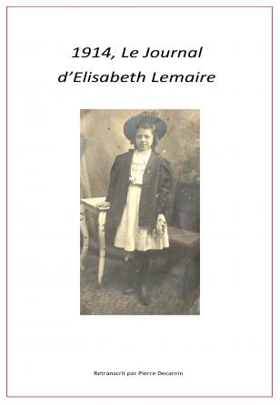 1914, Le Journal d'Elisabeth Lemaire