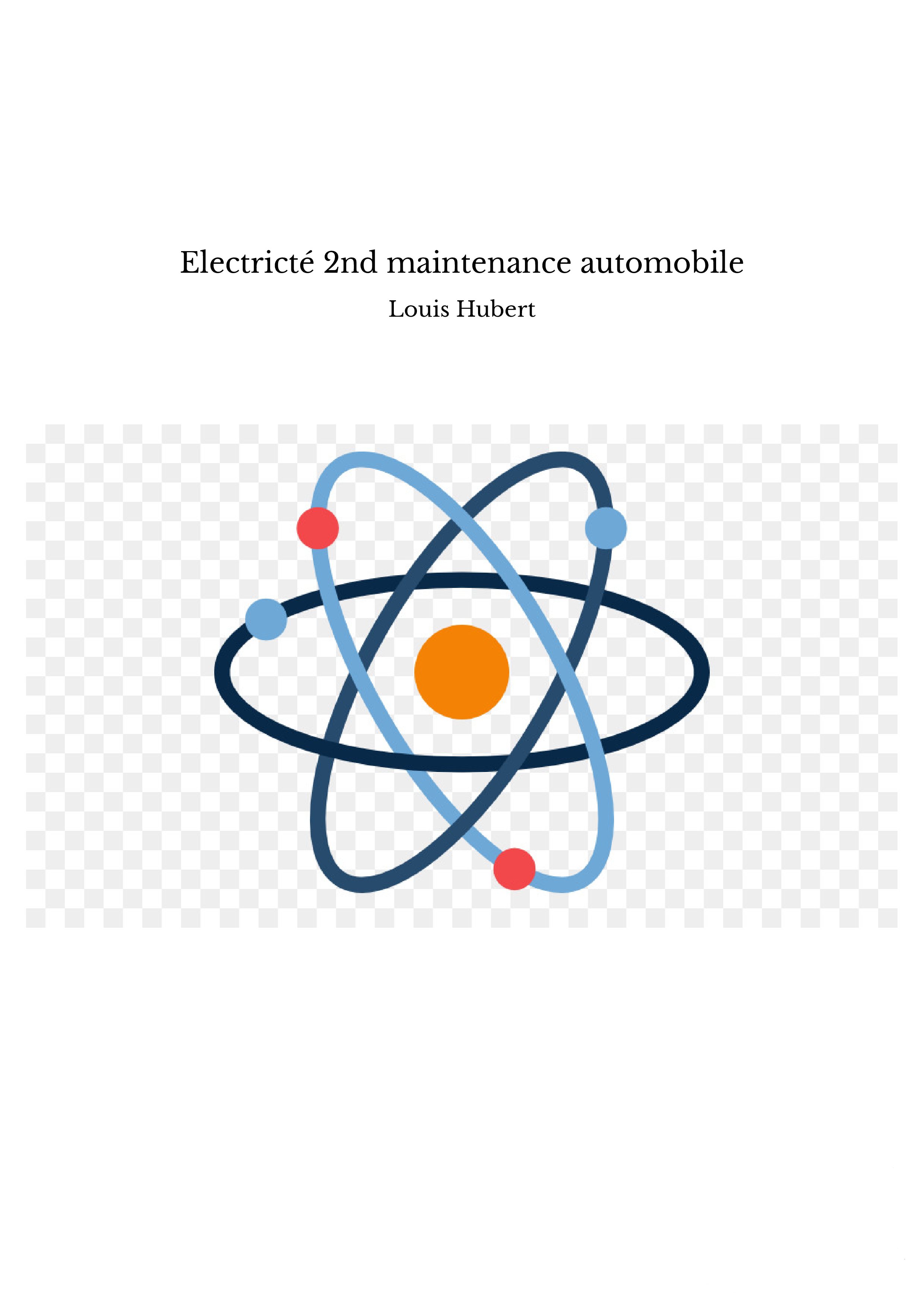 Electricté 2nd maintenance automobile