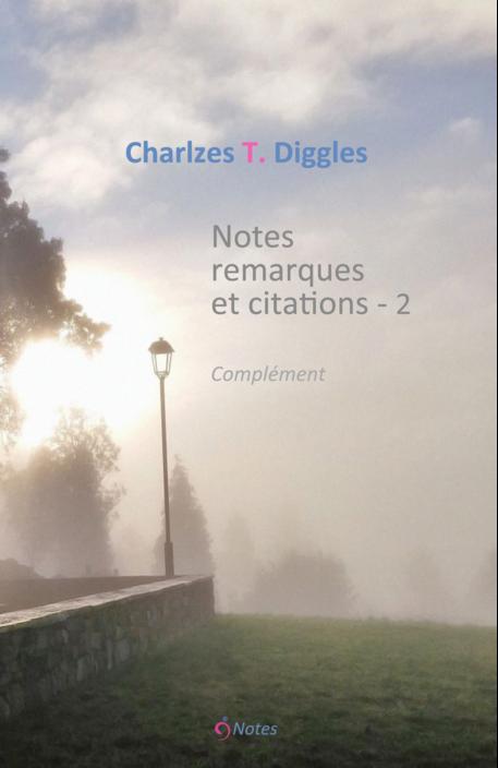 Notes, remarques et citations - 2