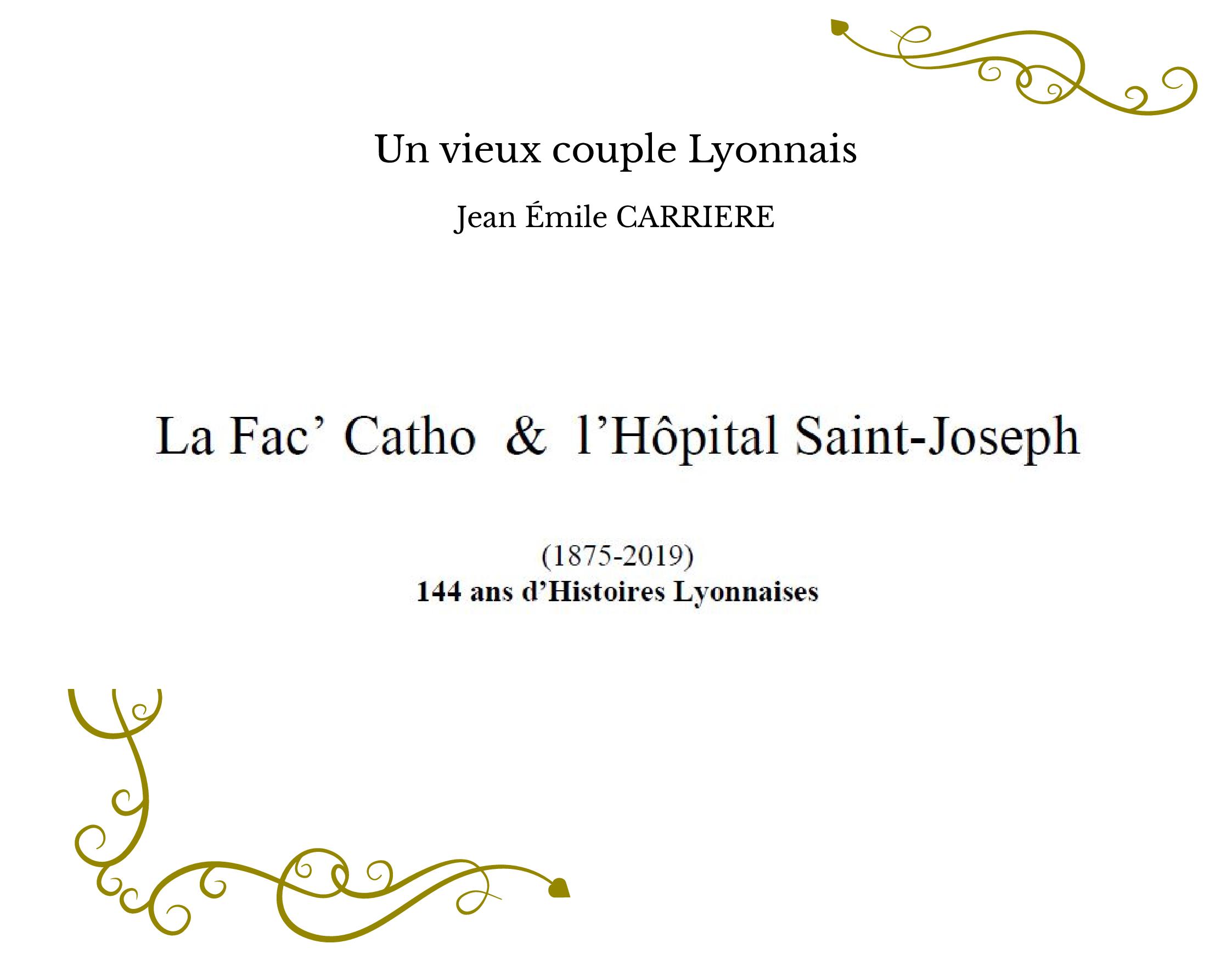 Un vieux couple Lyonnais