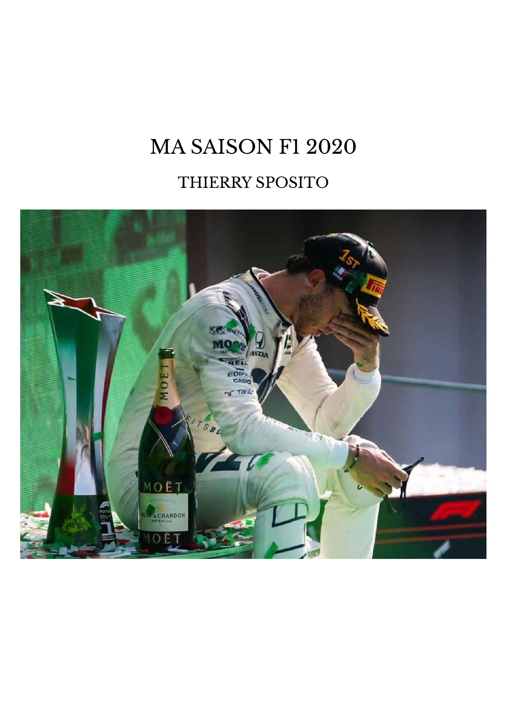 MA SAISON F1 2020