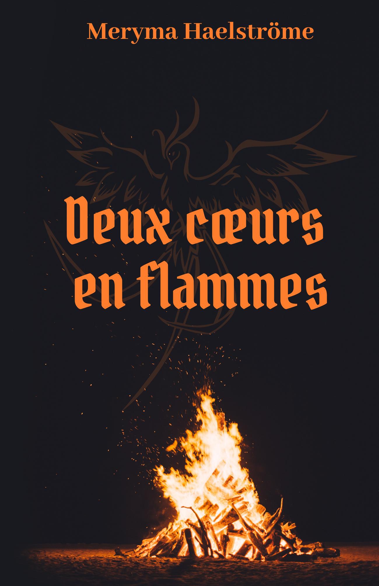 Deux cœurs en flammes