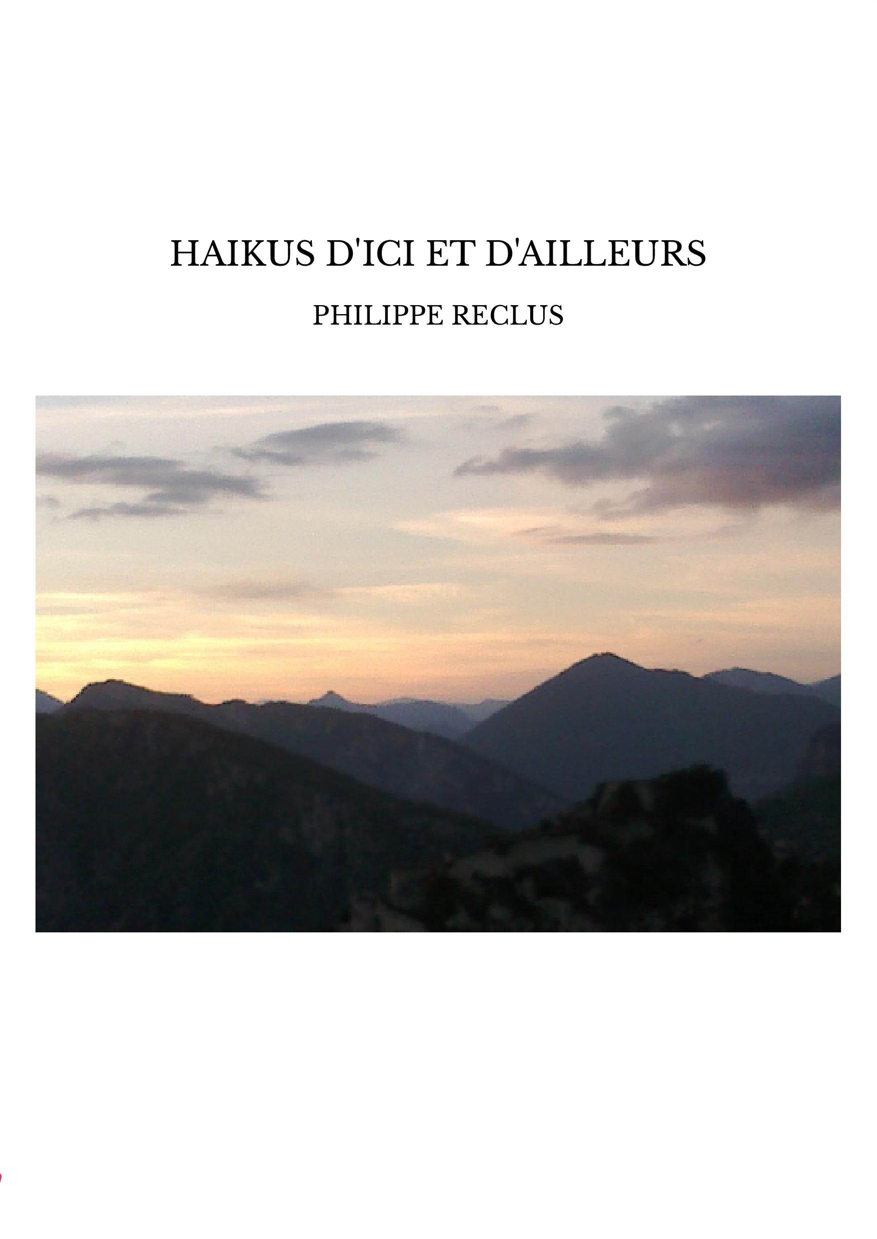 HAIKUS D'ICI ET D'AILLEURS