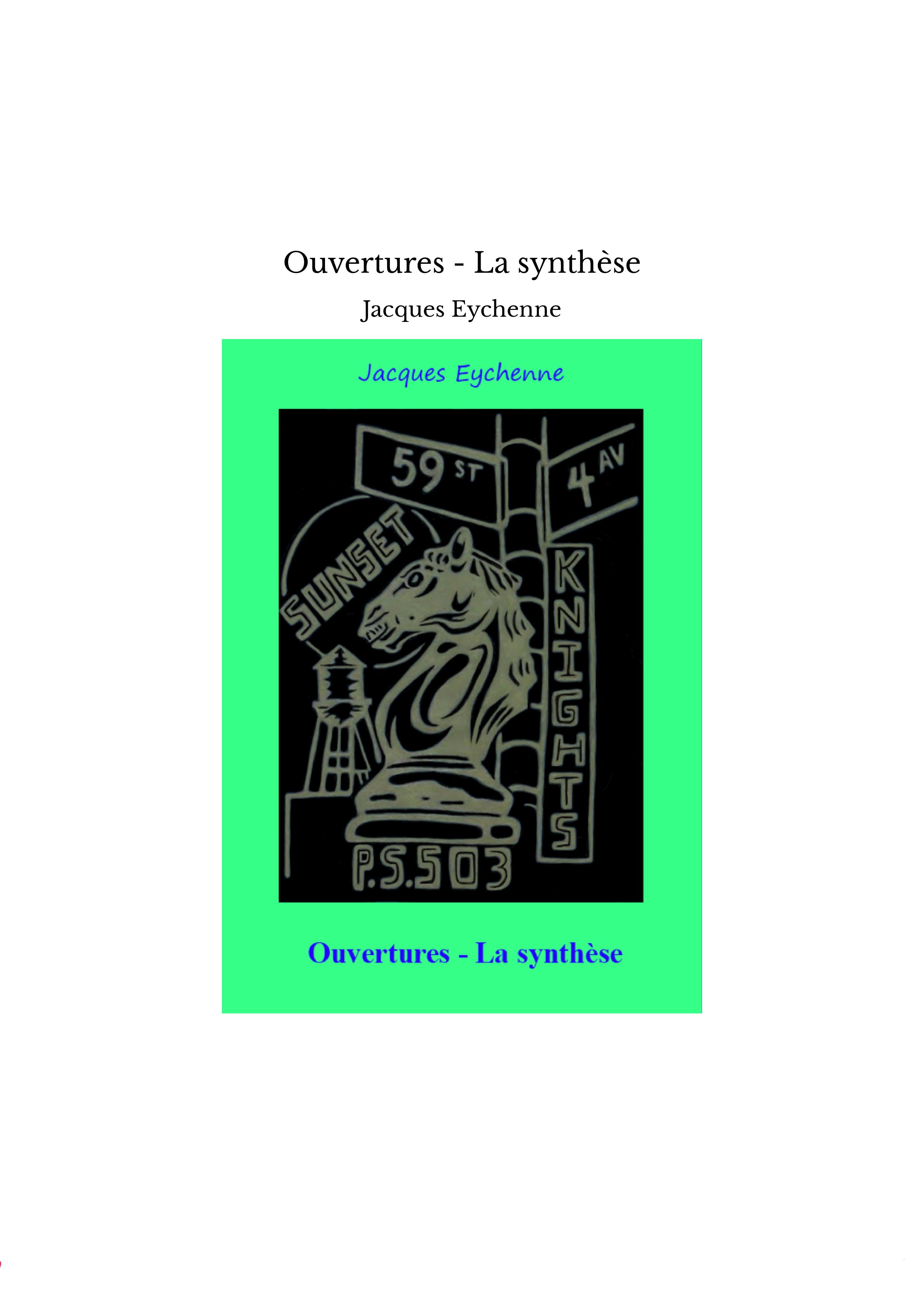 Ouvertures - La synthèse