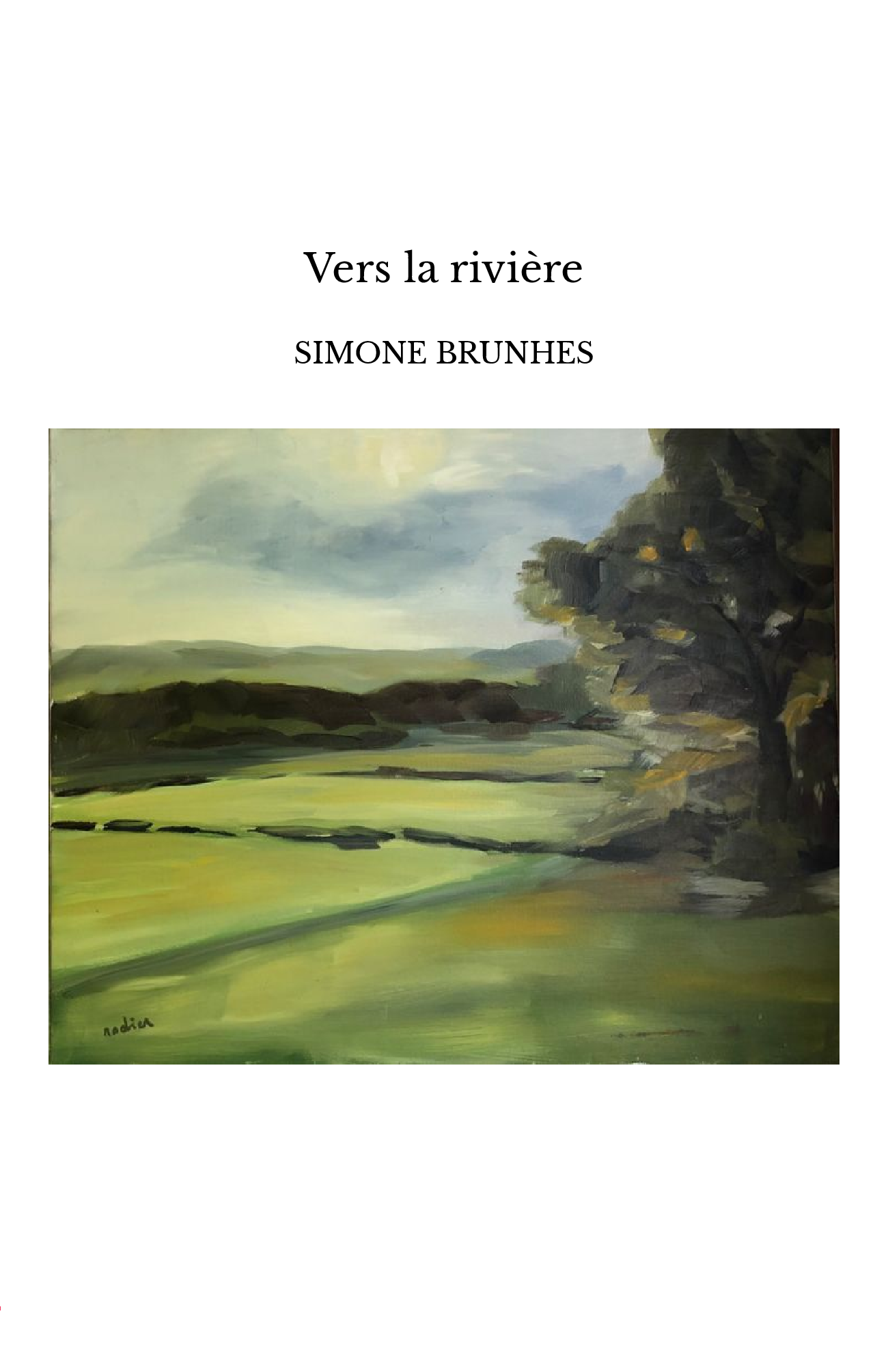 Vers la rivière