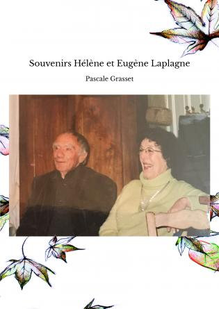 Souvenirs Hélène et Eugène Laplagne