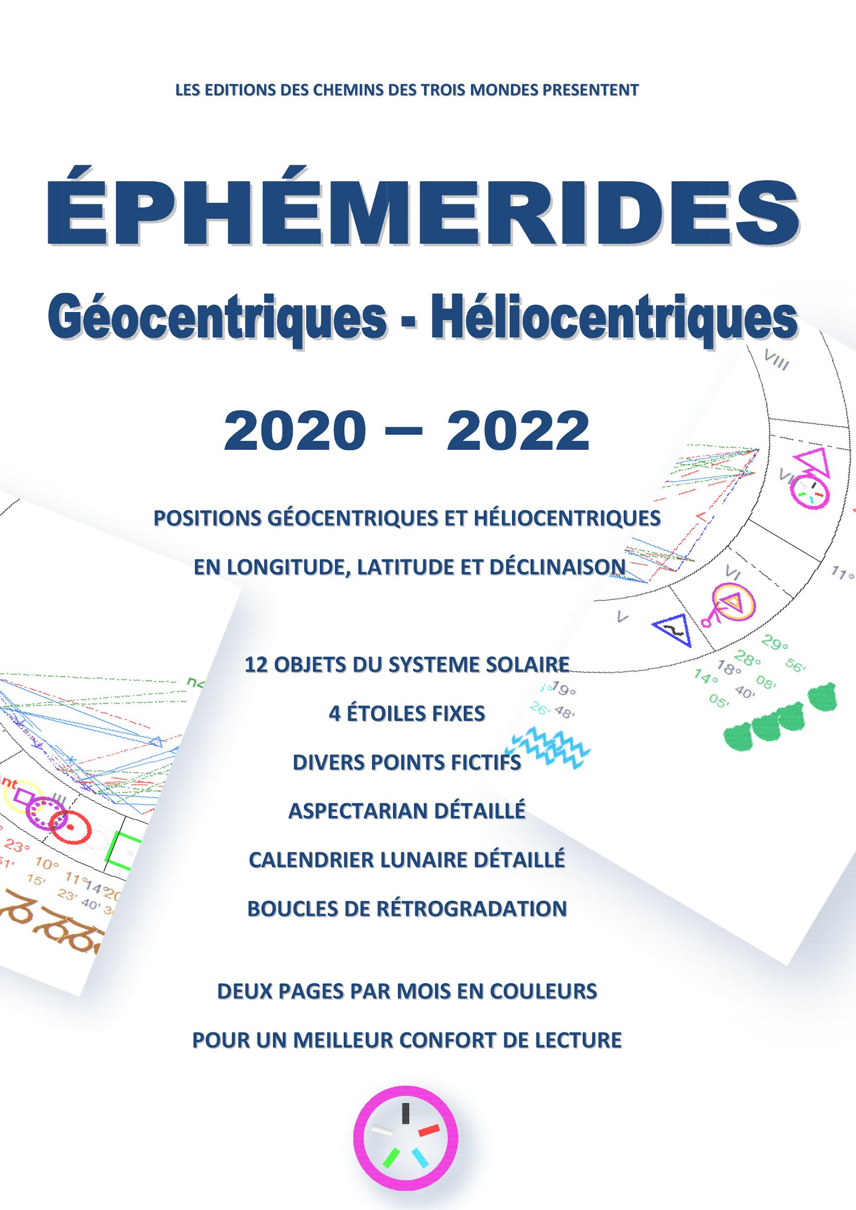 Ephémérides Astrologiques 2020-2022