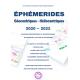Ephémérides Astrologiques 2020-2022 NB