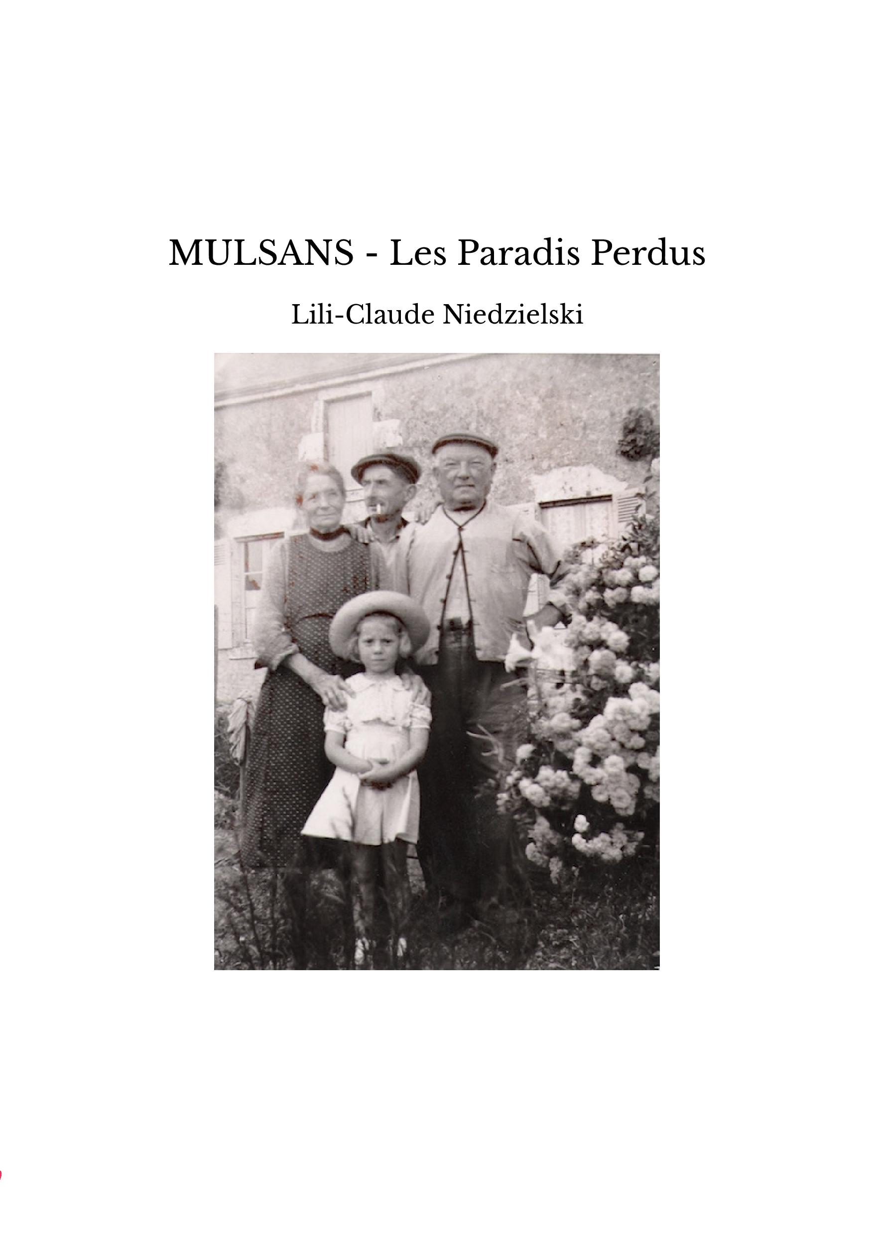 MULSANS - Les Paradis Perdus