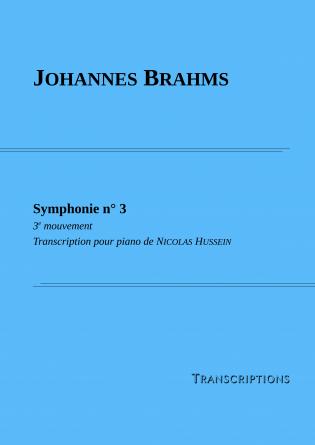 Symphonie n° 3 - 3e mvt (piano)