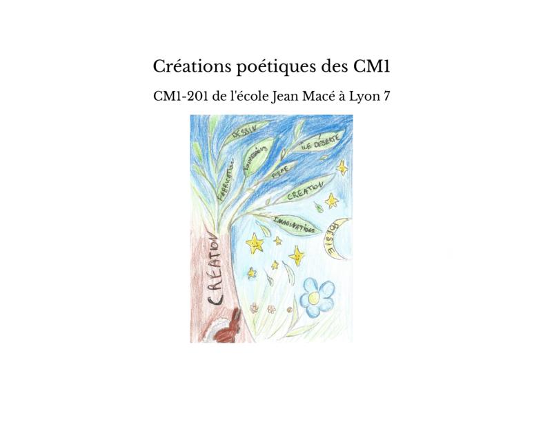 Créations poétiques des CM1