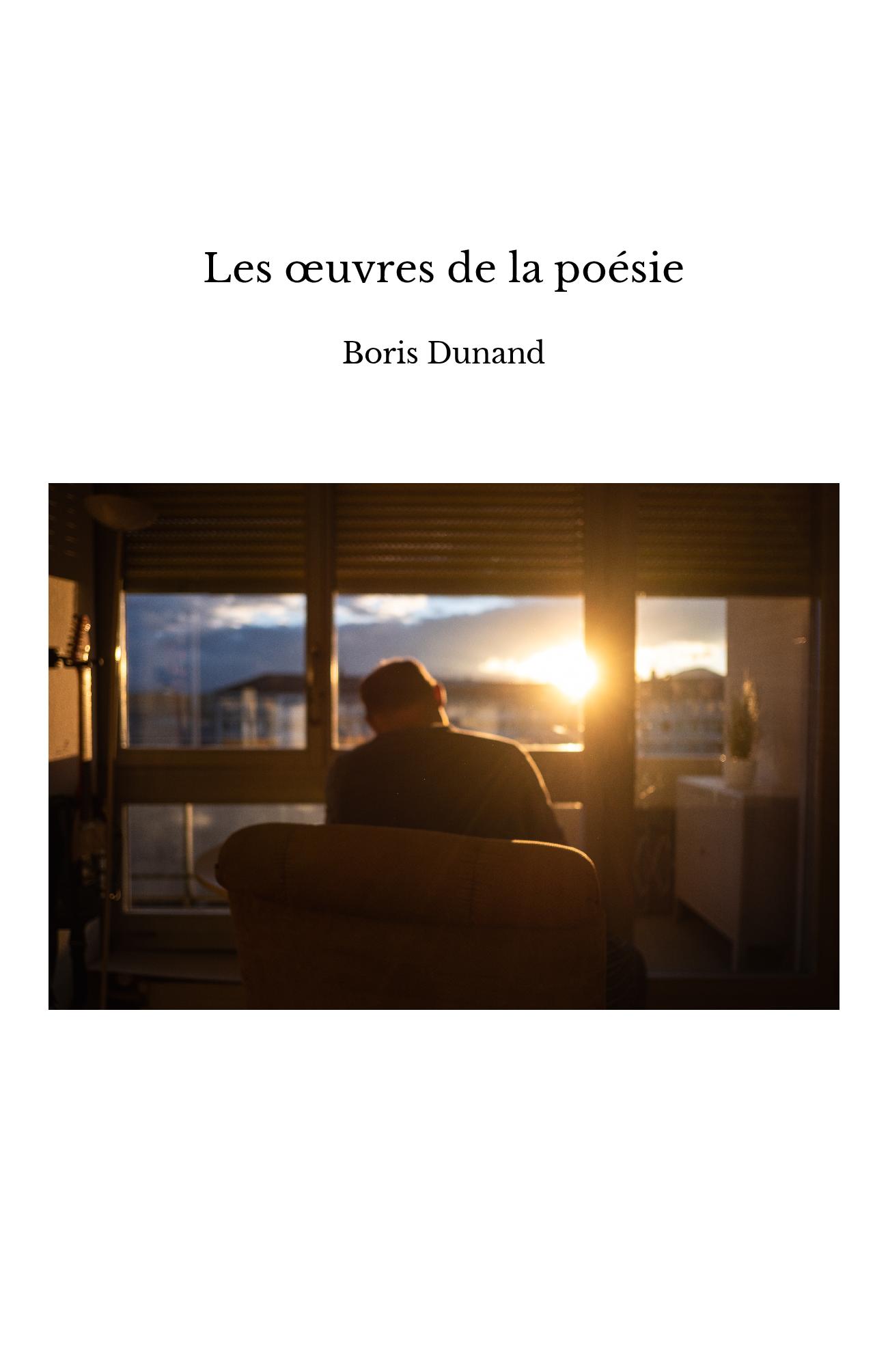 Les œuvres de la poésie