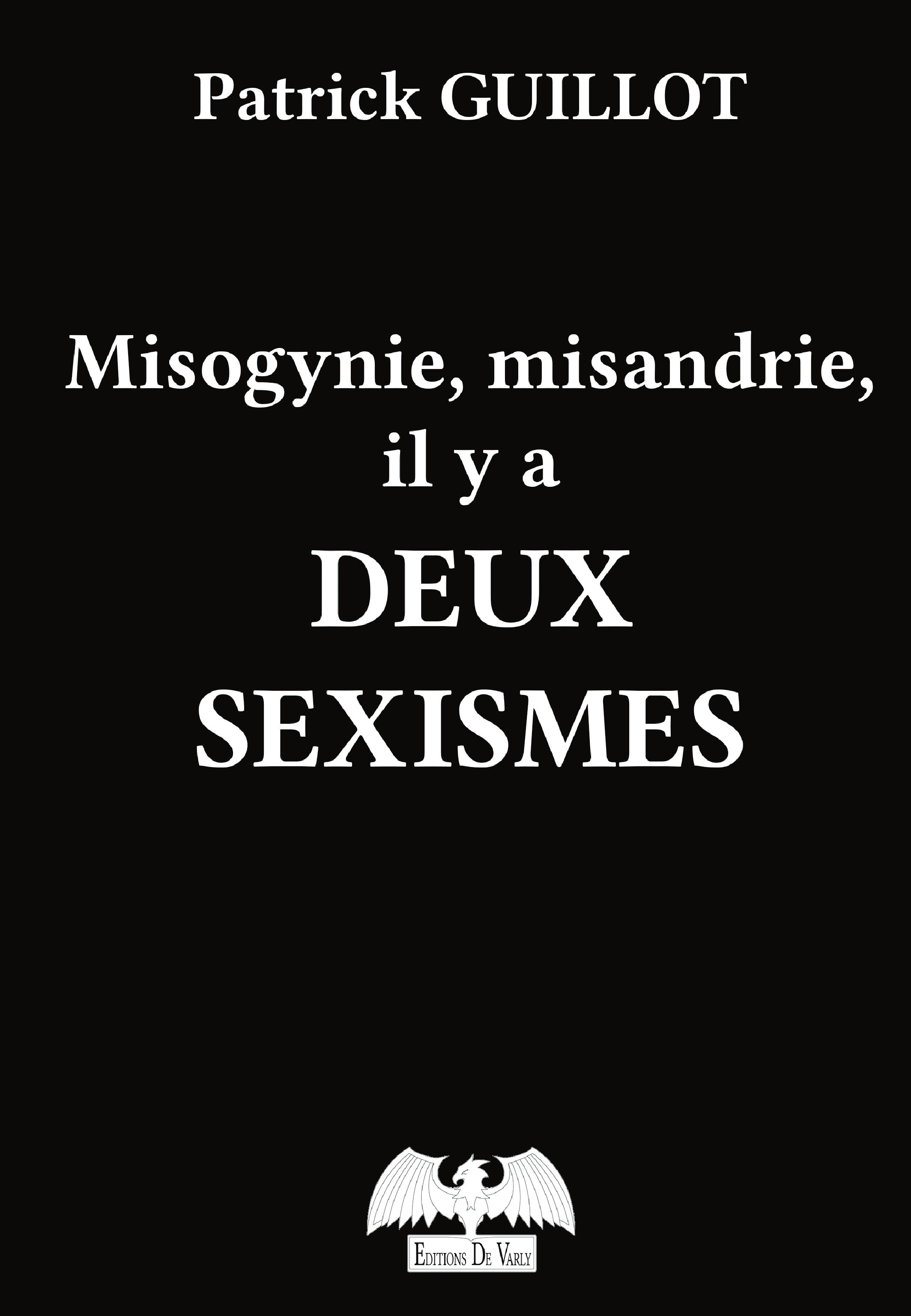 Misogynie, misandrie, deux sexismes