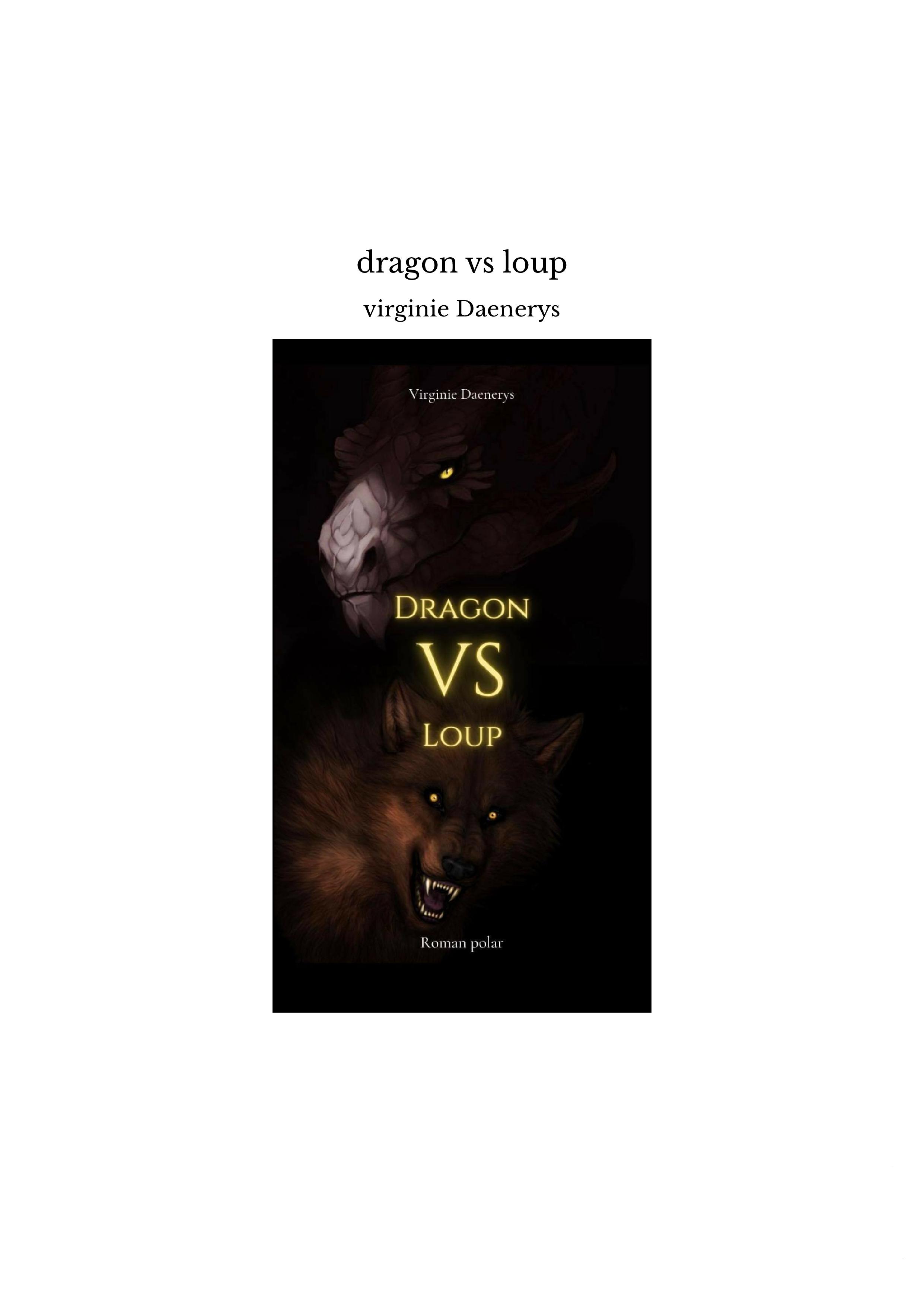 dragon vs loup