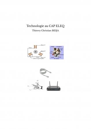 Technologie au CAP ELEQ