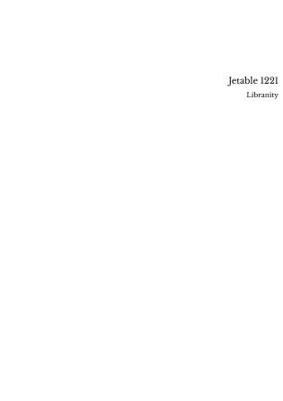 Jetable 1221