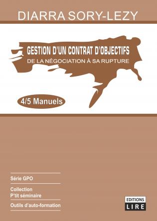 GESTION DES CONTRATS D'OBJECTIFS