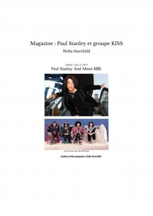 Magazine : Paul Stanley et groupe KISS