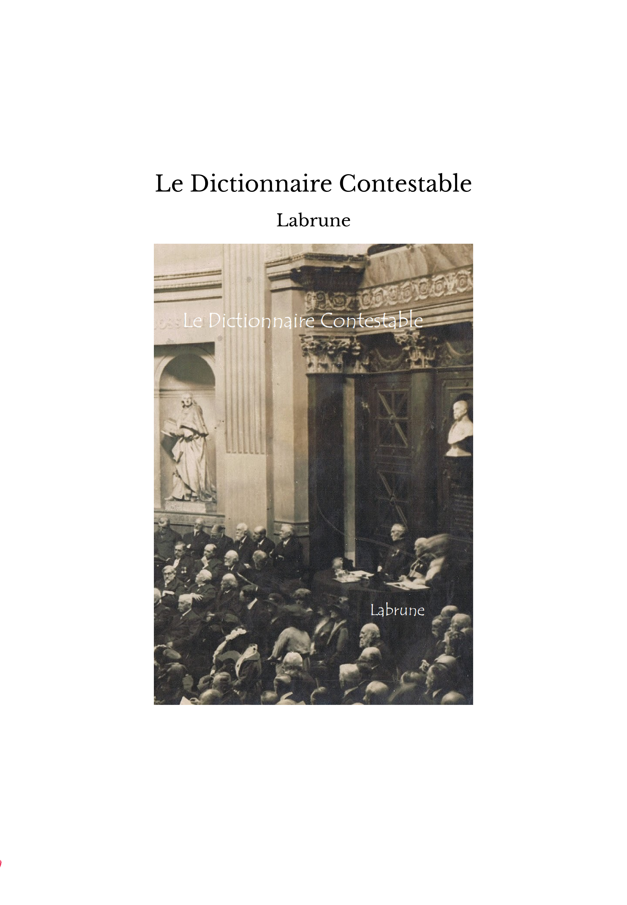 Le Dictionnaire Contestable