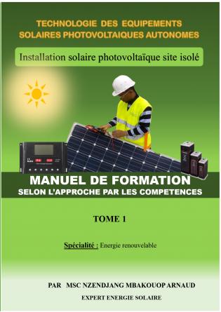 Installation solaire PV autonome TOME1