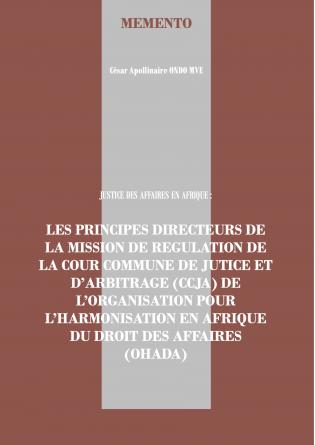 Mission de régulation de la CCJA