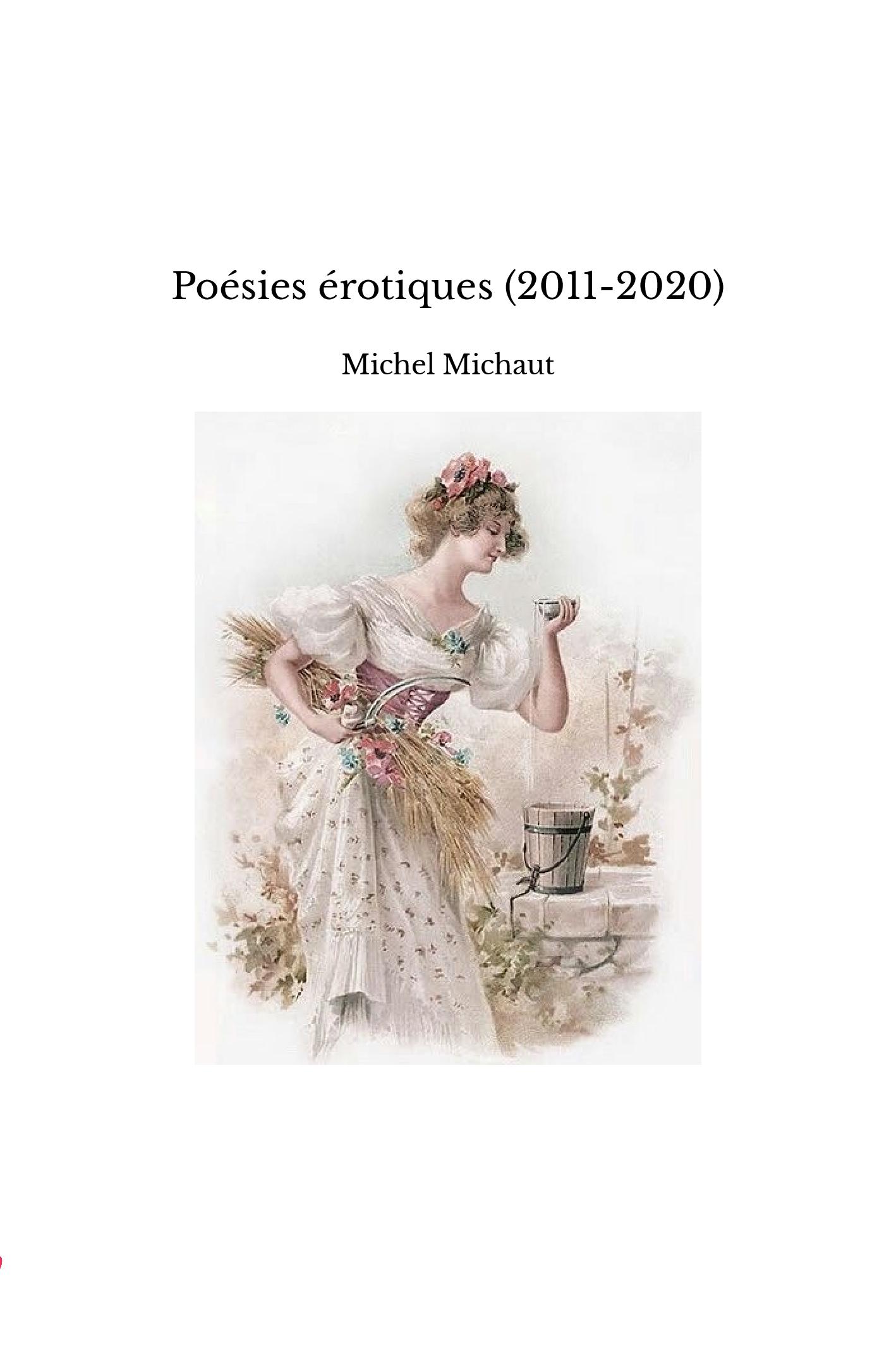 Poésies érotiques (2011-2020)